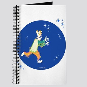 Clowny Mime Bear [blue 3] Journal